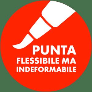 Pentel Brush sign pen punta in fibra flessibile ma indeformabile